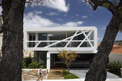 diseño fachada moderna