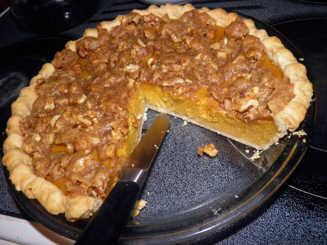 ... Culture And Indifferent To The Arts: Recipe: Maple Walnut Pumpkin Pie