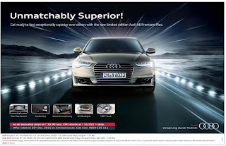 Amazing offer of the year on Audi A6 Premium @ Delhi Location