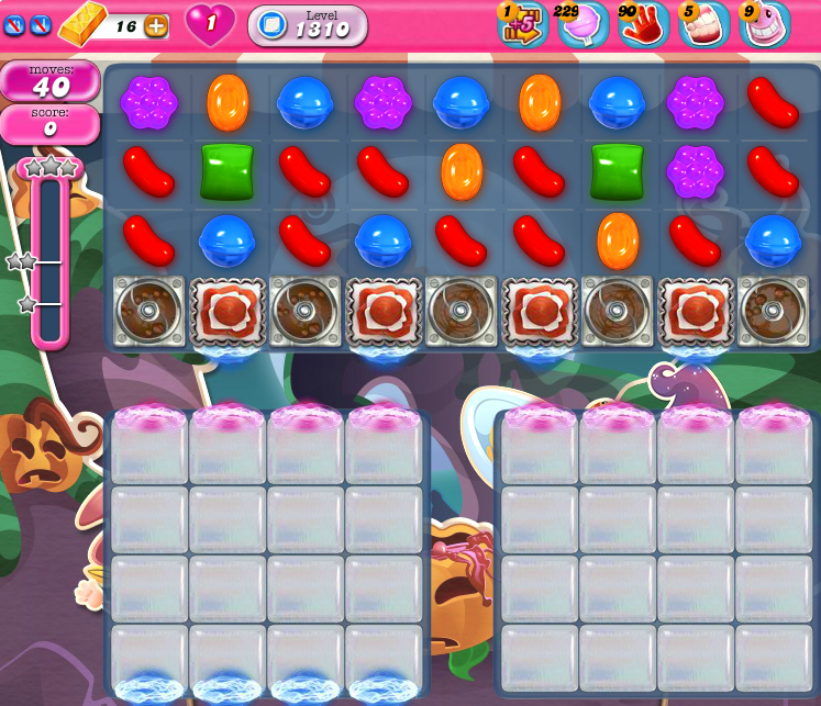 Candy Crush Saga 1310