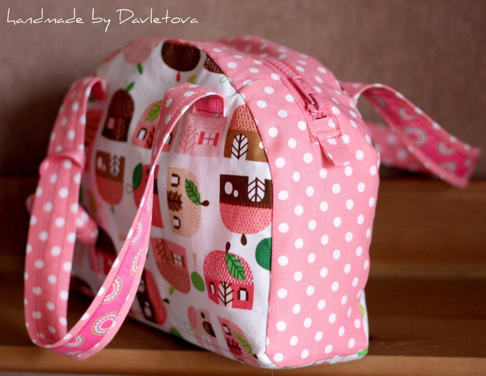 Как сделать сумку для девочки
