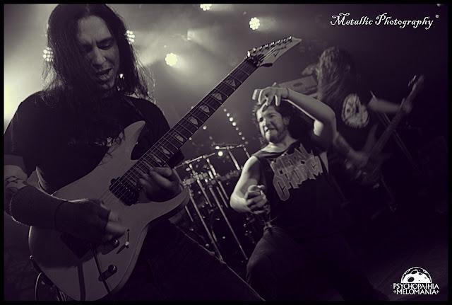Ronny Gutierrez & Mauro Gonzalez & Jessie Sanchez @Bonded by Blood, Le Forum, Vauréal 02/02/2013
