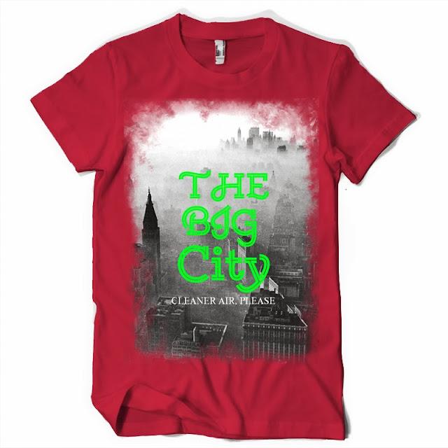 Big City T shirt design