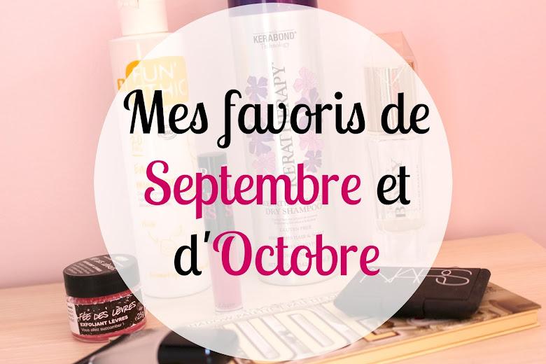 Favoris Septembre Octobre