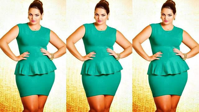 ¿Cómo combinar vestidos y color siendo gorditas?