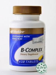 B Complex Shaklee Tidak Menggemukkan
