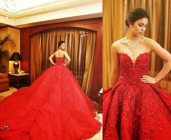 Debutante Julia Barretto in her Michael Cinco gown | Starring Of ...