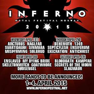 INFERNO METAL FESTIVAL 2015