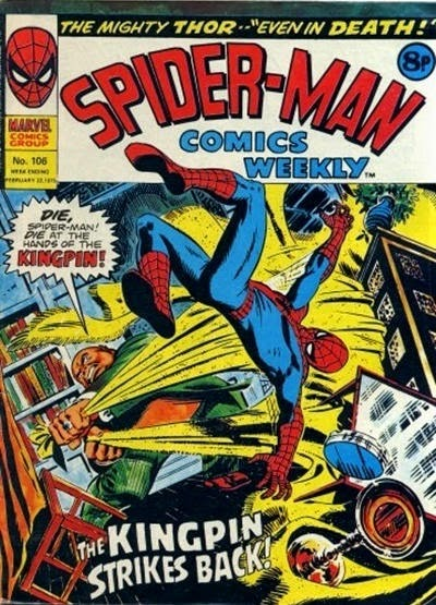Spider-Man Comics Weekly #106, The Kingpin