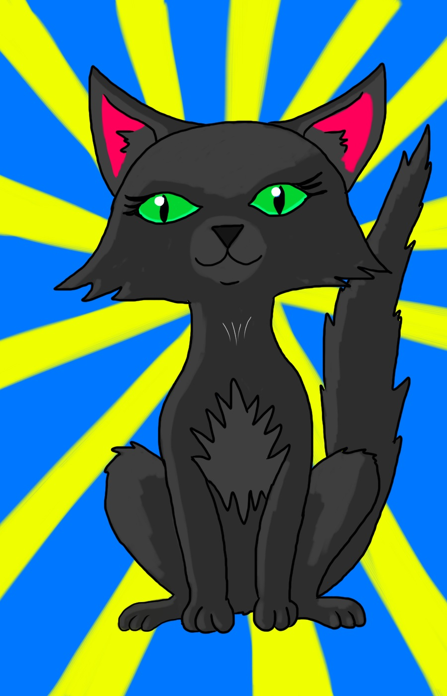 Manga cat: Mia