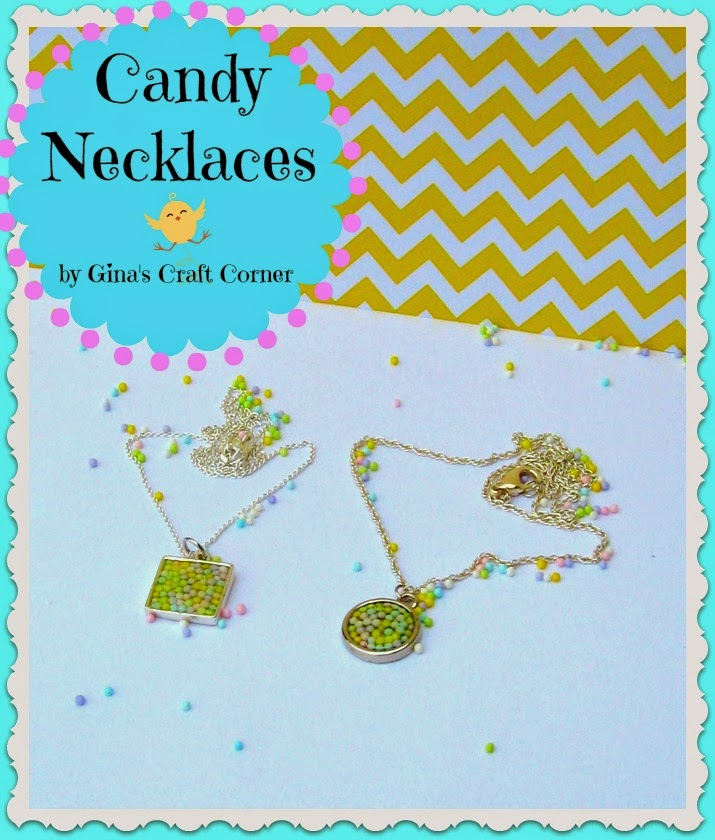 Candy Necklace by Ginas Craft Corner