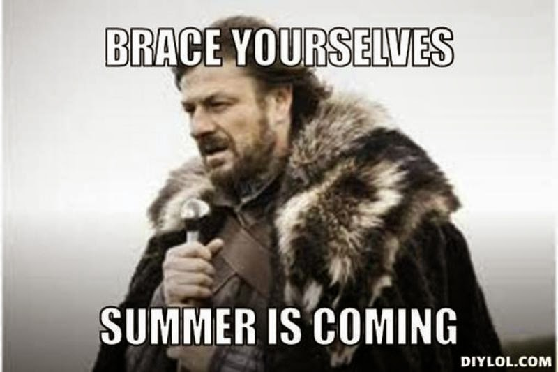 Brace Yourselves... Summer is Coming