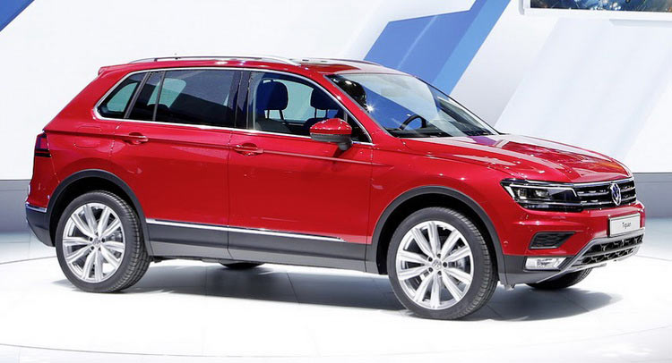 vw to reveal new plug in hybrid tiguan in detroit. Black Bedroom Furniture Sets. Home Design Ideas