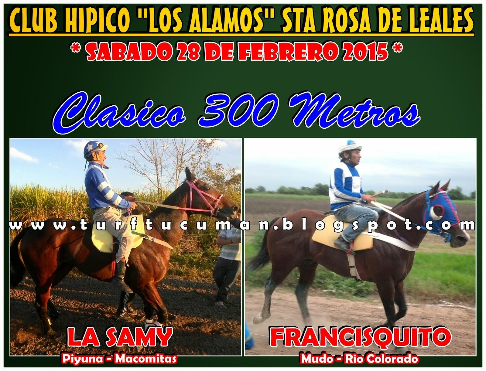 SAMY VS FRANCISQUITO