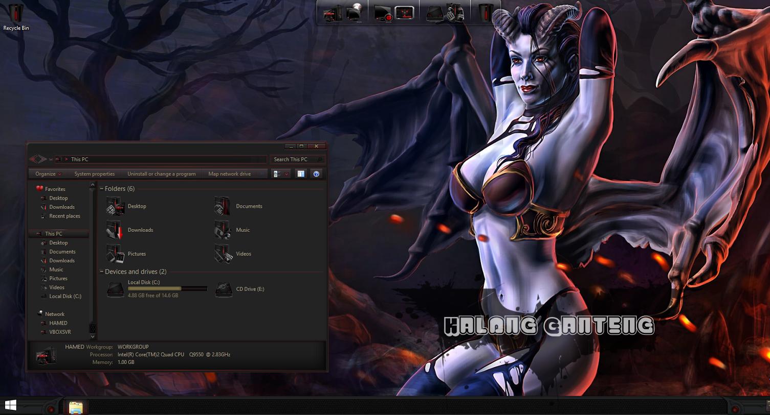 DOTA2 SkinPack Screenshot windows 8/8.1