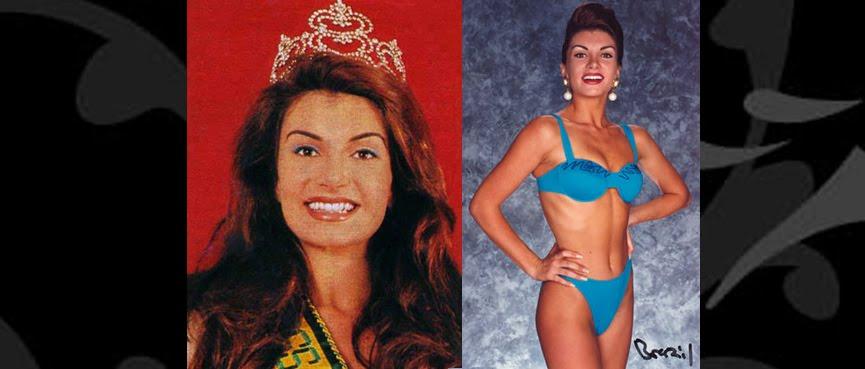 MISS BRASIL 1993 - LEILA CRISTINE SCHUSTER