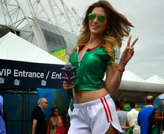 FIFA World Cup 2014 Hot Presenter
