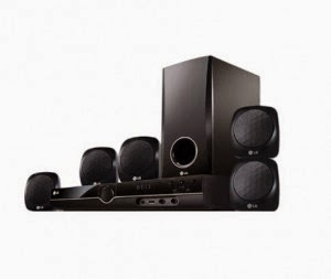 Snapdeal: Buy LG HT355 SD 5.1 DVD Home Theatre System at Rs.7299