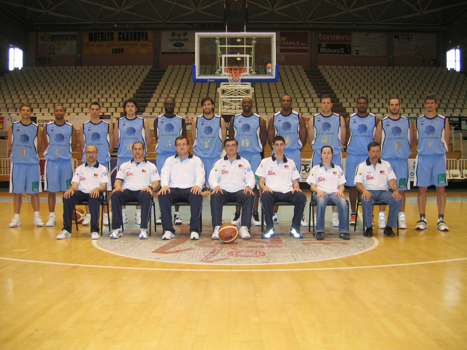 C.B. BREOGÁN LUGO 2006-2007. Liga LEB