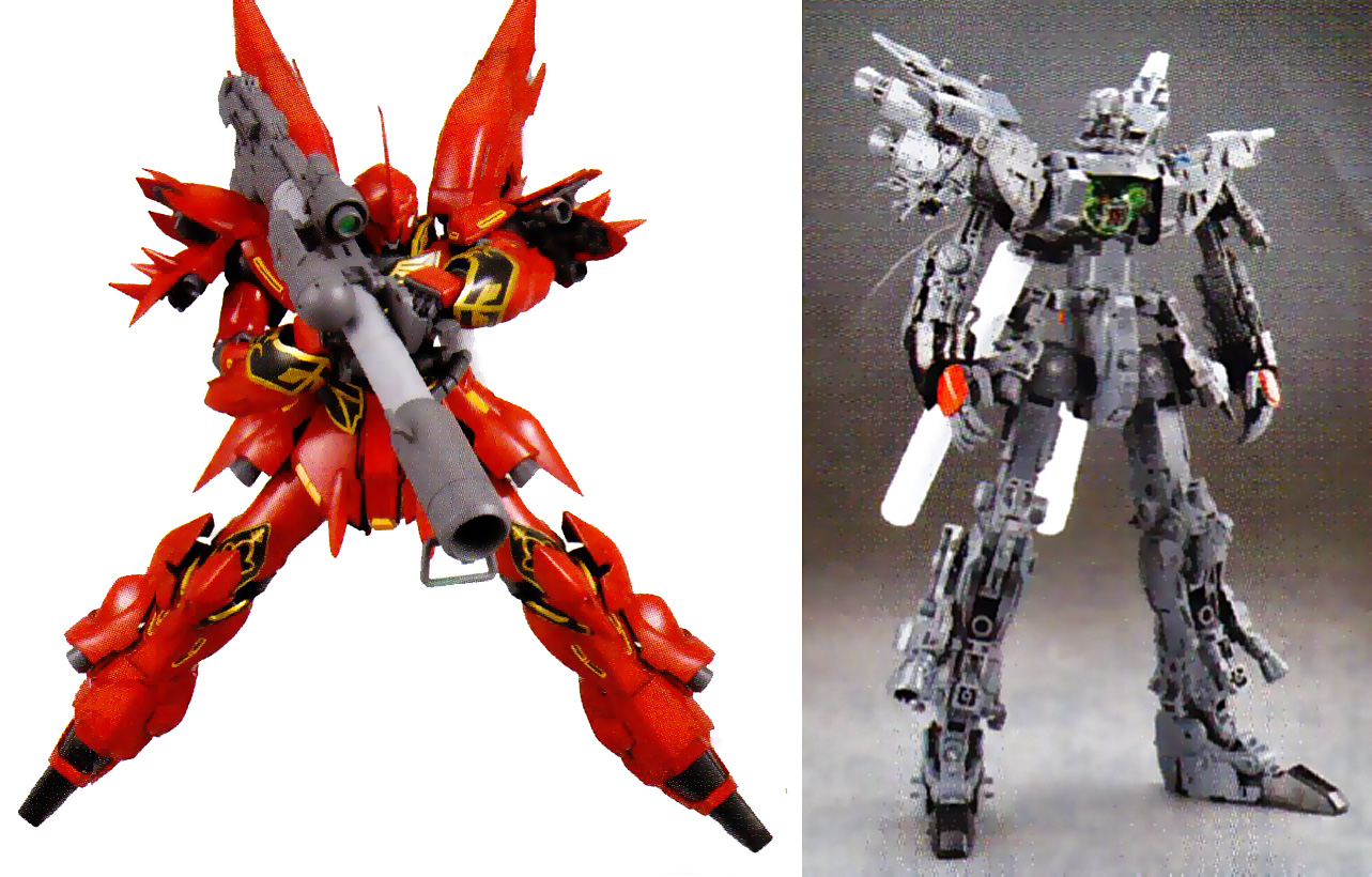 GUNDAM GUY: MG 1/100 Sinanju [OVA Ver.] - New Images ...