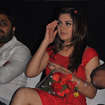 Hansika Motwani Sexy Legs Show At Telugu Film 'Settai' Audio Launch