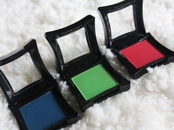 illamasqua collection eyeshadow swatches Creep CanCan Inception Fledgeling Intense Daemon Sex