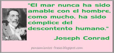 frases de Joseph Conrad