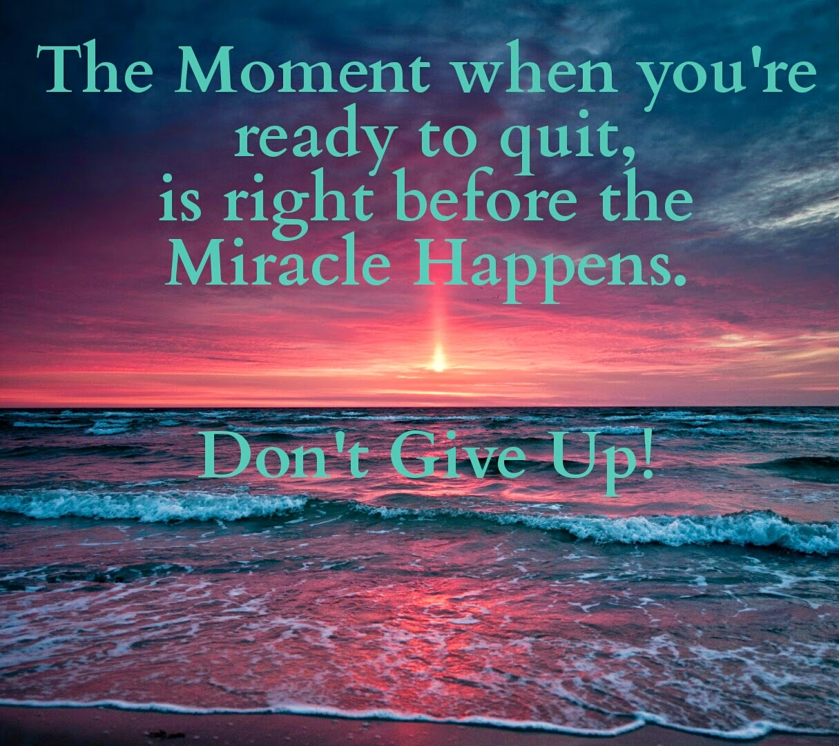 If We Expect A Miracle To Happen Then Maybe It Will More Often May Your Day Be Filled With Miracles And Expecting Thankful For Countless