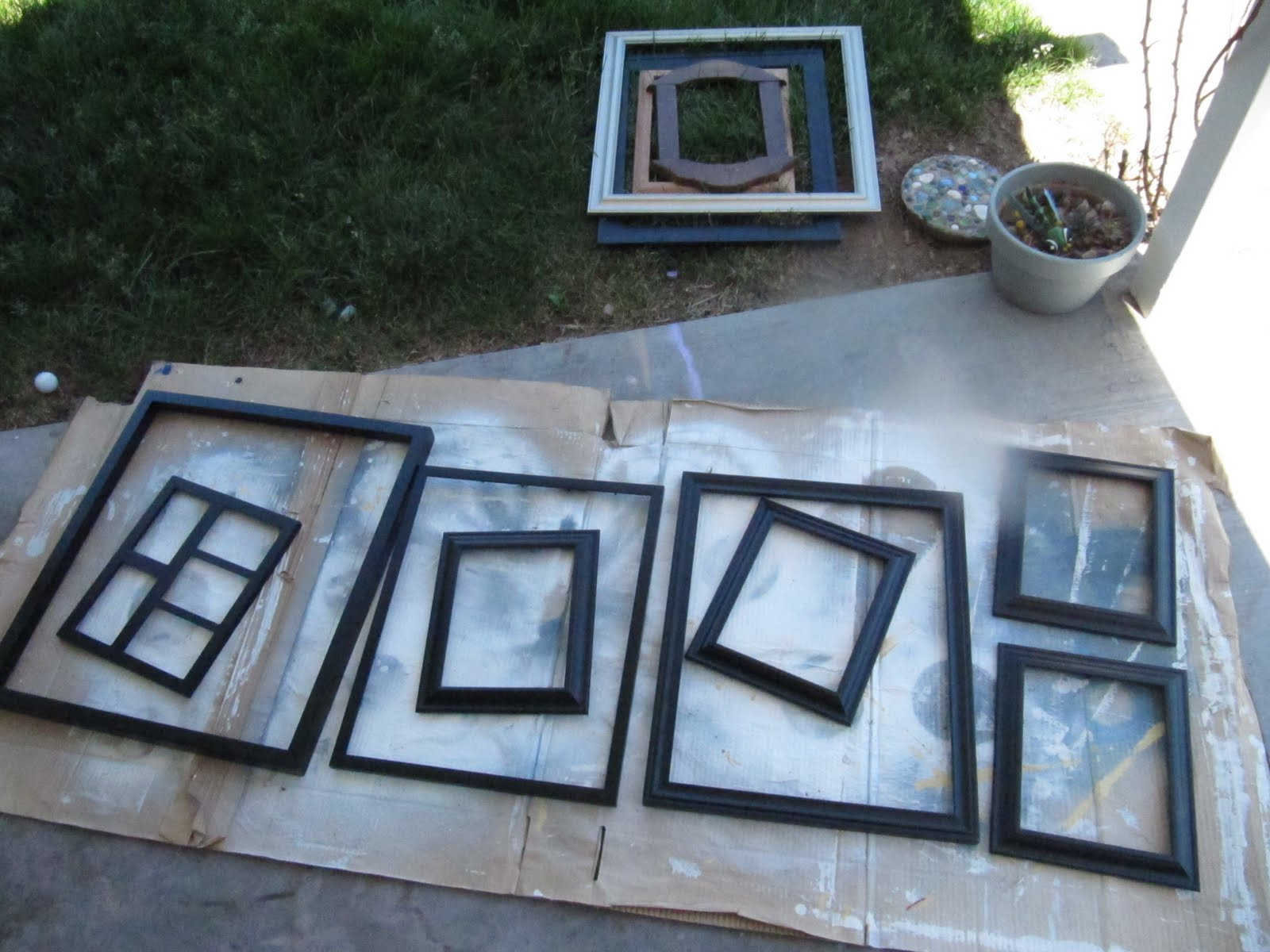 painting picture frames. Painting Picture Frames  A Gallery Wall The Wicker House
