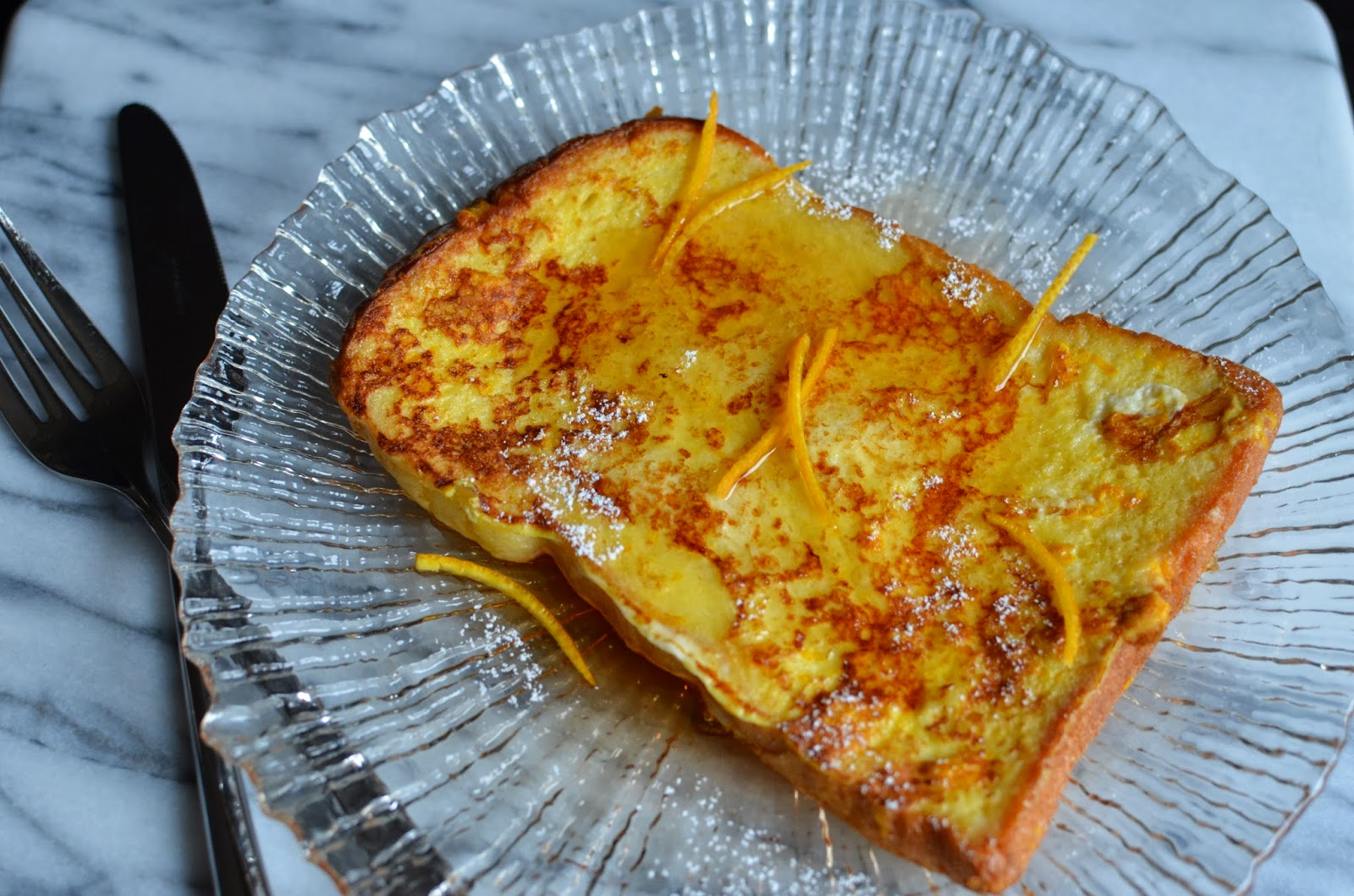 Playing with Flour: French toast with an orange twist