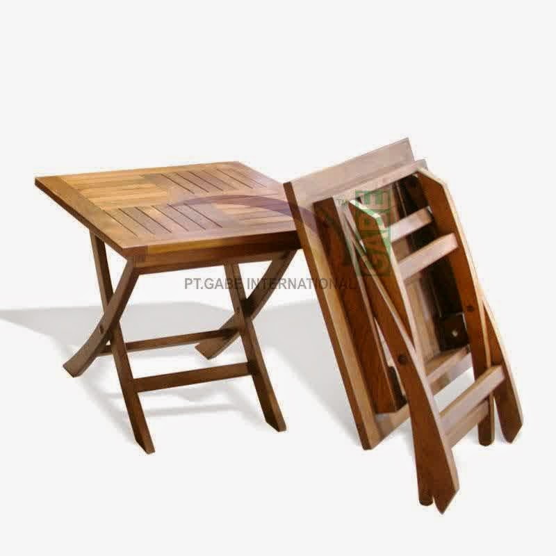 folding patio table all about wood funiture