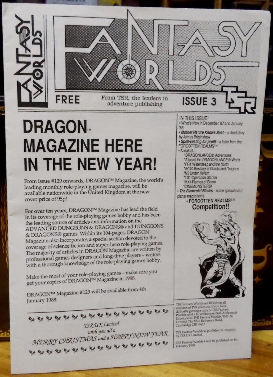 Dungeon Magazine 005 Auto Electrical Wiring Diagram Isuzu 3lb1 Engine Tsr Fantasy Worlds