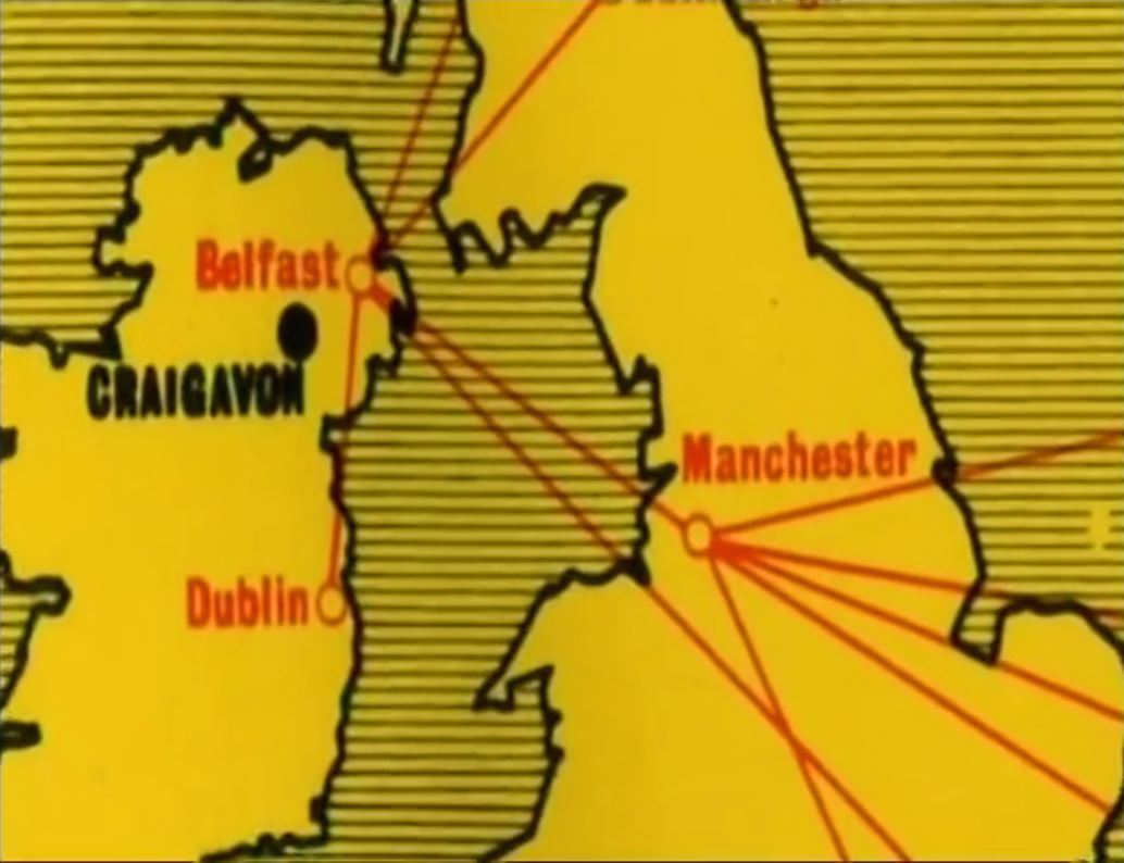 here s a great documentary from 2007 by newton emerson for the bbc the lost city of craigavon one of the mid sixties second wave new towns it blossomed