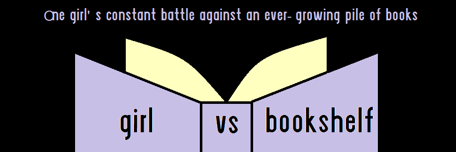 Girl Vs Bookshelf