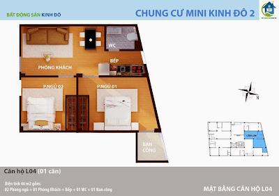 Thiết kế căn hộ chung cư Tây Hồ giá rẻ