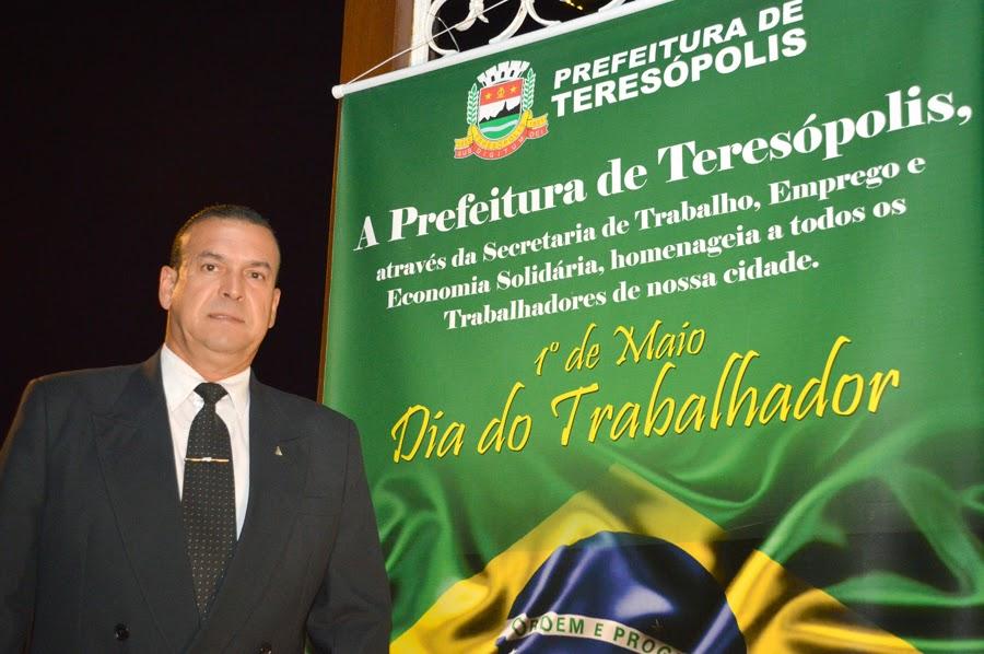 Como secretário de Trabalho, Emprego e Economia Solidária, Lucas Bonifácio, se sentiu orgulhoso em homenagear profissionais das diversas áreas
