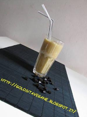 analcolico, Bevande, frozen, frullato, ghiaccio, liquirizia, pere, ricette vegan,