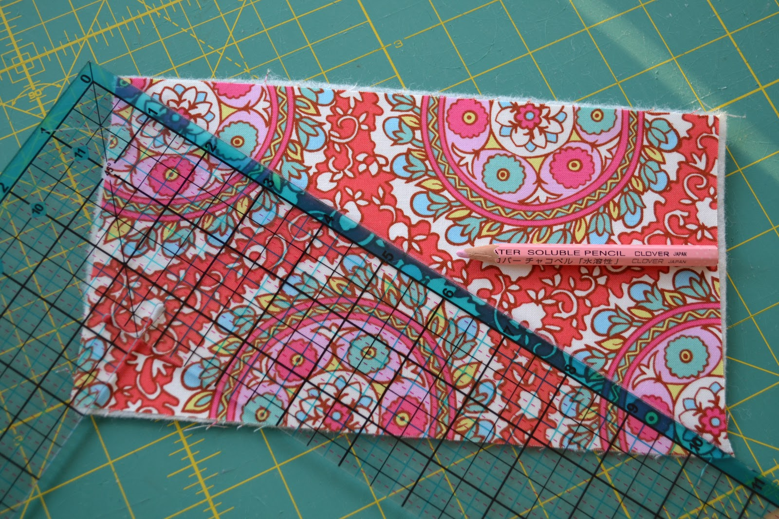Fabric Book Cover Pattern Free ~ The domestic doozie needle book tutorial with free template