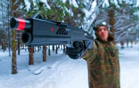 Winter lasertag