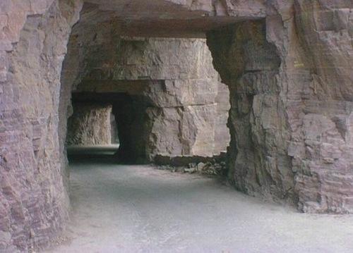 Guoliang Tunnel Road, China