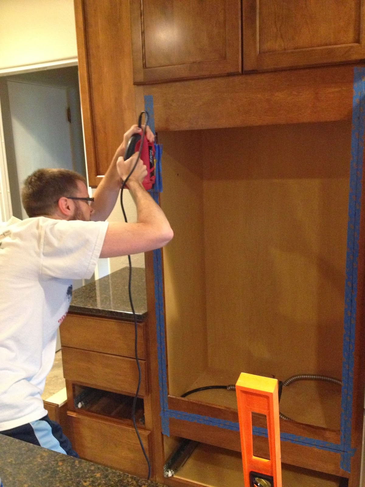Build a Double Wall Oven Cabinet