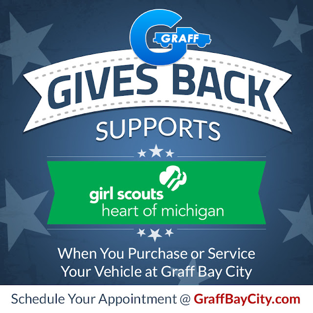 Graff Bay City Supports the Girl Scouts Heart of Michigan