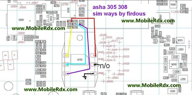 Asha 305, 308 Insert Sim Problem Solution Ways Jumper