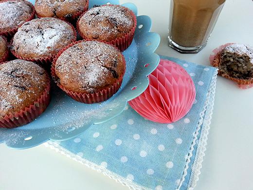 vegane  Schoko-Bananenmuffins Dinkelmehl Foodblog Blog Holunderweg 18