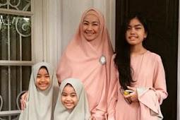 Cantiknya Alya Rohali Dengan Jilbab Syari