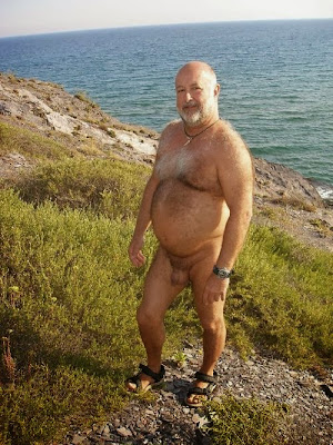 daddy bear - naked daddy - hairy older