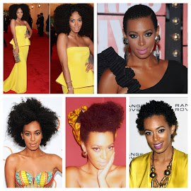 Natural hair inspiration: Solange Knowles