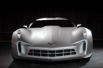 2013 Corvette C7 Front side.