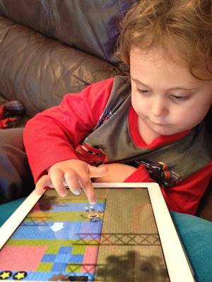 Toca Robot Lab iPhone / iPad App