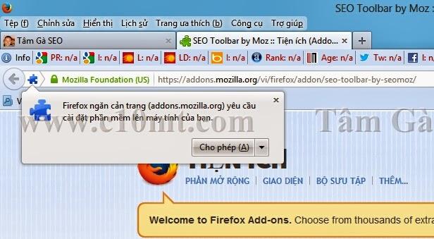 Seomoz Toolbar Firefox